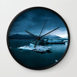 Blistering Cold Wall Clock