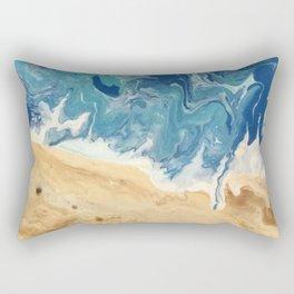 Beach Abstract Rectangular Pillow