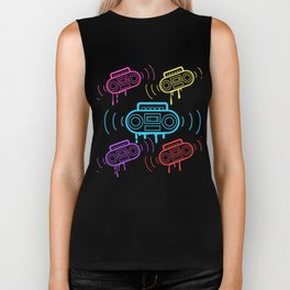 Here's A Great 80's design A Colorful 80's Design Saying Cassette T-shirt Design Vitage Retro Biker Tank