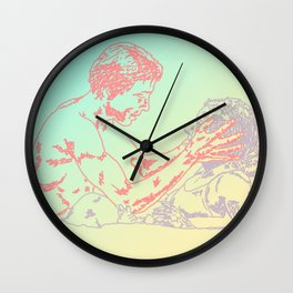 Orpheus and Eurydice Wall Clock
