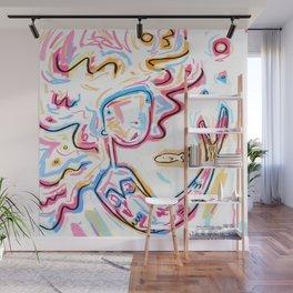Rainbow Mermaid  Wall Mural