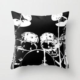 DIGITAL DRUMS Throw Pillow