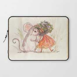 Thumbelina and the Mouse! Laptop Sleeve