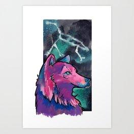 Constellation Ursa Major Art Print