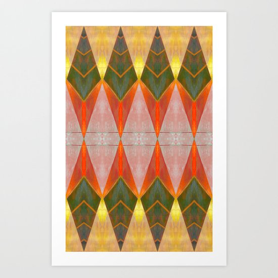 8 Diamonds  Art Print