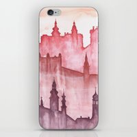 cities iPhone & iPod Skins featuring My cities by Zuzana Ondrejkova
