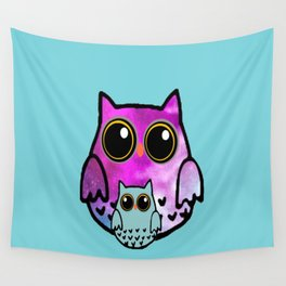owl-108 Wall Tapestry