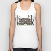 home alone Tank Tops featuring Home Alone Christmas by M. Gulin