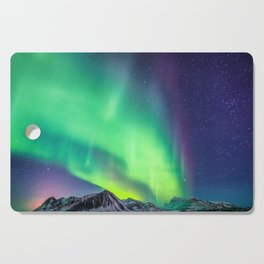 Northern Lights in Iceland Cutting Board
