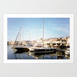 Postcard From Rijeka Art Print