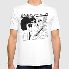 Bob's Burgers x Sonic Youth Mens Fitted Tee LARGE White