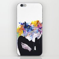 oil iPhone & iPod Skins featuring intimacy on display by agnes-cecile