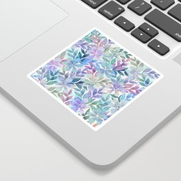watercolor Botanical garden Sticker