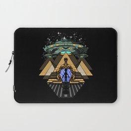 Egyptian Pyramids Alien Abduction UFO Laptop Sleeve