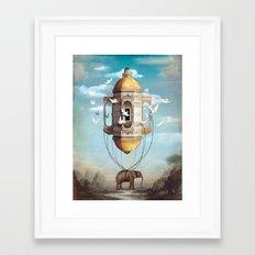 Imaginary Traveler Framed Art Print