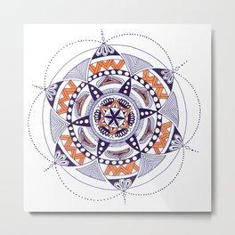 Mandala Art 02 Metal Print