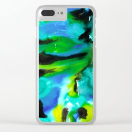 Spring Colors #02 Clear iPhone Case