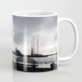 Oil Beam Pump New Plymouth Habour Coffee Mug