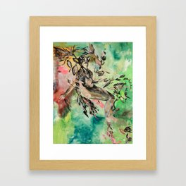 A Lucid Kind of Love  Framed Art Print