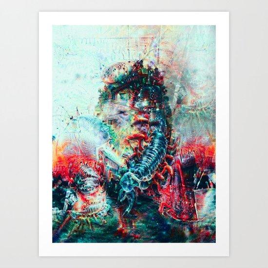 Sci-Fi Daymare Art Print