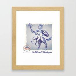 Coltstead Hooligan Framed Art Print