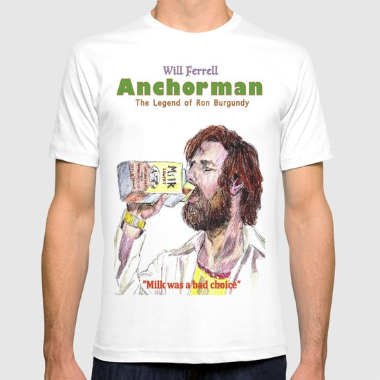 Anchorman: The Legend of Ron Burgundy T-shirt