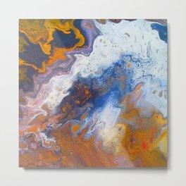 Fluid painting 12. Metal Print