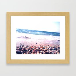 Shells party Framed Art Print
