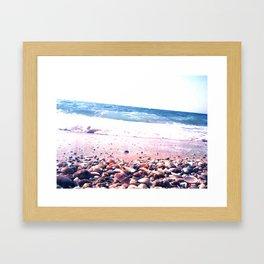 Shells party Framed Art Print