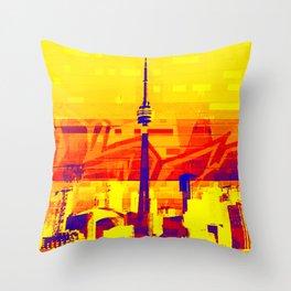 Toronto | Project L0̷SS   Throw Pillow