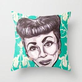 Mommie Dearest Throw Pillow