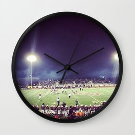 Friday Night Lights Wall Clock
