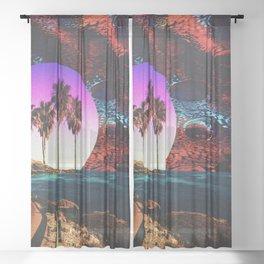 Sunday Drive Sheer Curtain