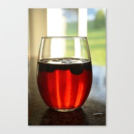 Just a Sip Canvas Print