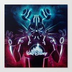 Disney Darth Canvas Print