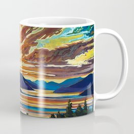 Inlet Sunset Coffee Mug