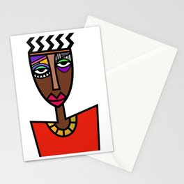 African Beauties  Stationery Cards
