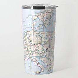 International E-Road Network Travel Mug