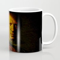 picasso Mugs featuring King Picasso by Joe Ganech