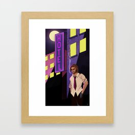 The Wolf Among Us   Bigby Wolf Framed Art Print