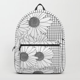 Daisy Grid on Side Backpack