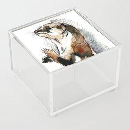Amblonyx cinereus otter Acrylic Box