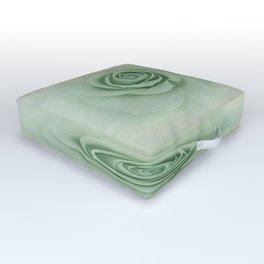 Dreamy Vintage Floating Rose Outdoor Floor Cushion