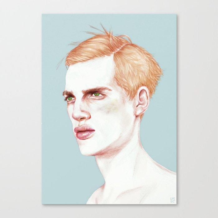 Boy Bruised Canvas Print