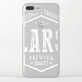 Lars-Name Clear iPhone Case