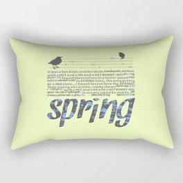 In Springtime Rectangular Pillow