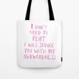 Awkward Tote Bag