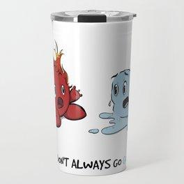 Fire & Ice by dana alfonso Travel Mug