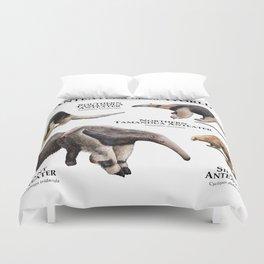 Anteaters of the World Duvet Cover