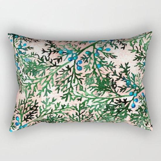 Botanical Watercolor Art #society6 #decor #buyart Rectangular Pillow